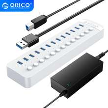 Orico 13 портов питание ed usb 30 концентратор bc12 зарядное