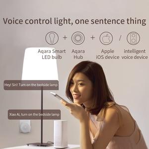 Image 3 - Набор для умного дома Xiaomi Aqara хаб 3 настенный беспроводной переключатель лампа дверь датчик движения температуры релейный модуль камера MI Home