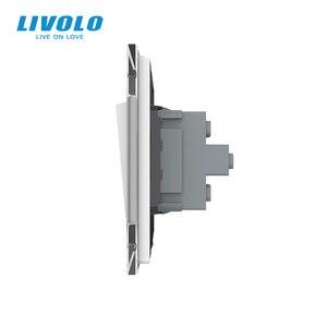 Image 5 - Livolo panneau en verre cristal standard ue