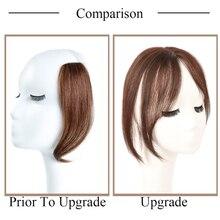 Бразильские Прямые шелковые Базовые волосы Топпер человеческие волосы парик волосы для женщин чистый цвет Remy женский парик с двойным узлом 3D челка