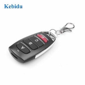 Image 2 - kebidu 433Mhz Auto Remote Control Cloning Gate for Garage Door Remote Control Portable Duplicator Key