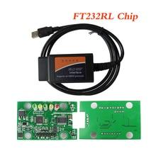 ELM327 USB OBD2 Siêu FT232RL Chip Xe Máy Quét Chẩn Đoán ELM 327 V1.5 USB OBD 2 Tự Động Công Cụ Chẩn Đoán EML 327 Hỗ Trợ j1850