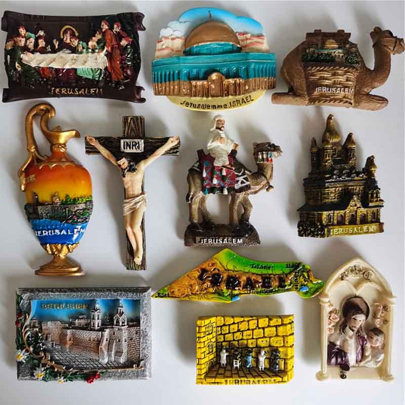 Магнит для холодильника, Палестина, Израиль, возвращение последней еды, верблюд, туристические сувениры, магнитные наклейки для холодильни...