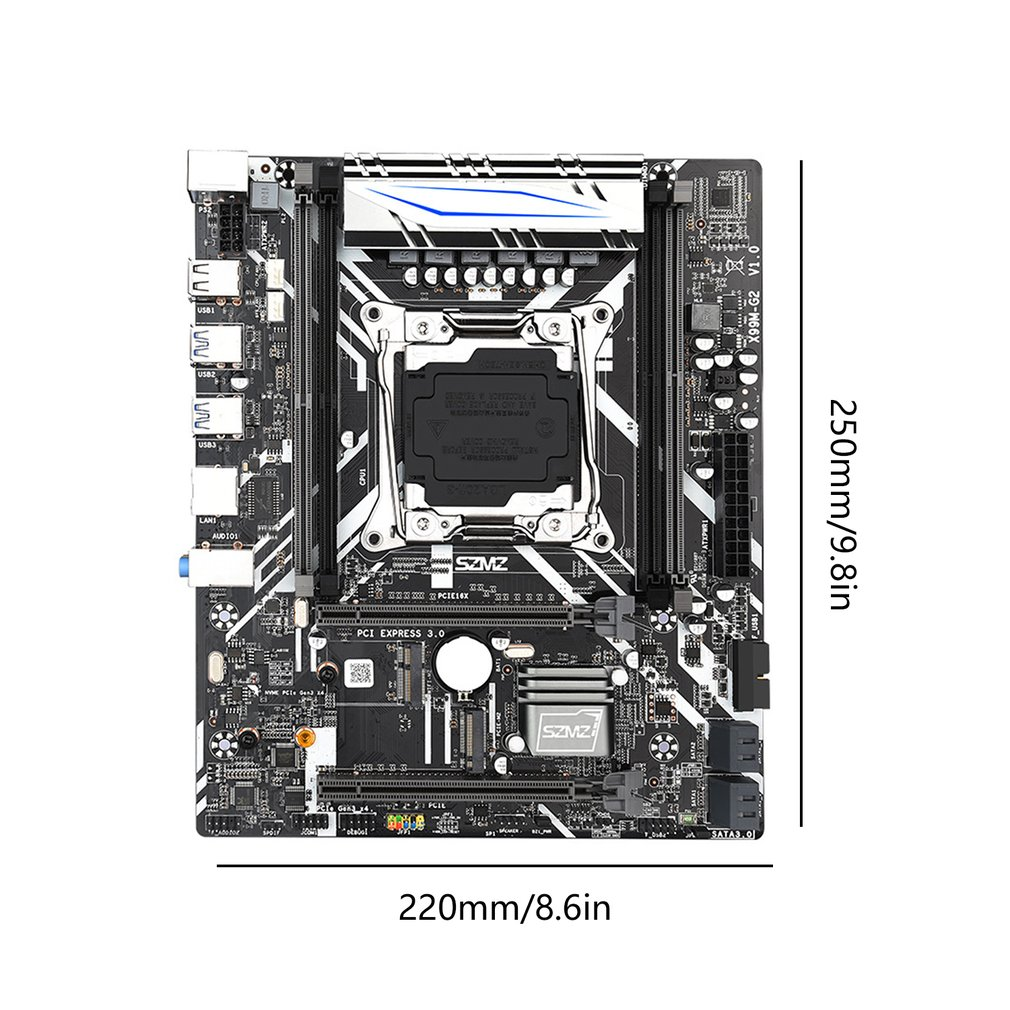 X99M-G2 Motherboard Set With E5 2620V3 Processor Support PCIE 16X USB 3.0 SATA And DDR4 Memory 6
