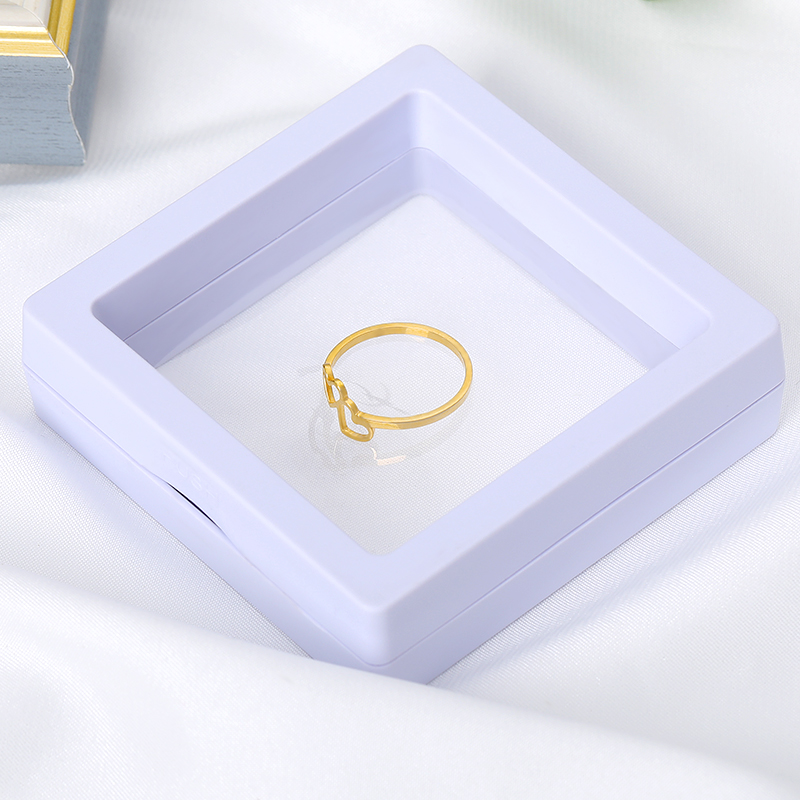 Transparent Gift Box For Ring Earring Bracelet Necklace Jewelry Packaging Display Box