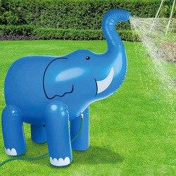 Летняя детская игрушка для игры в воду, для улицы, спрей для воды, 3D слон, лужайка, для игры в воду, для родителей и детей, Интерактивная игрушк...