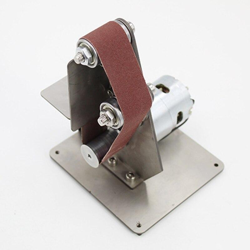 Image 4 - ミニ DIY ベルトサンダーサンディング研削盤研磨ベルトグラインダー研磨 TUE88研磨工具   -