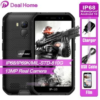 Перейти на Алиэкспресс и купить Ulefone Armor X7 Pro смартфон с восьмиядерным процессором Android 10,0, ОЗУ 4 Гб, ПЗУ 32 Гб