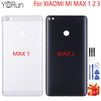 Calidad AAA para Xiaomi Mi MAX 1 2 3 soporte de la carcasa trasera de la batería para Xiaomi Mi MAX 1 2 3 piezas de repuesto herramientas gratis