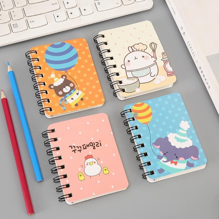 Best Discount C366d Korean Cartoon Coil Portable Notebook