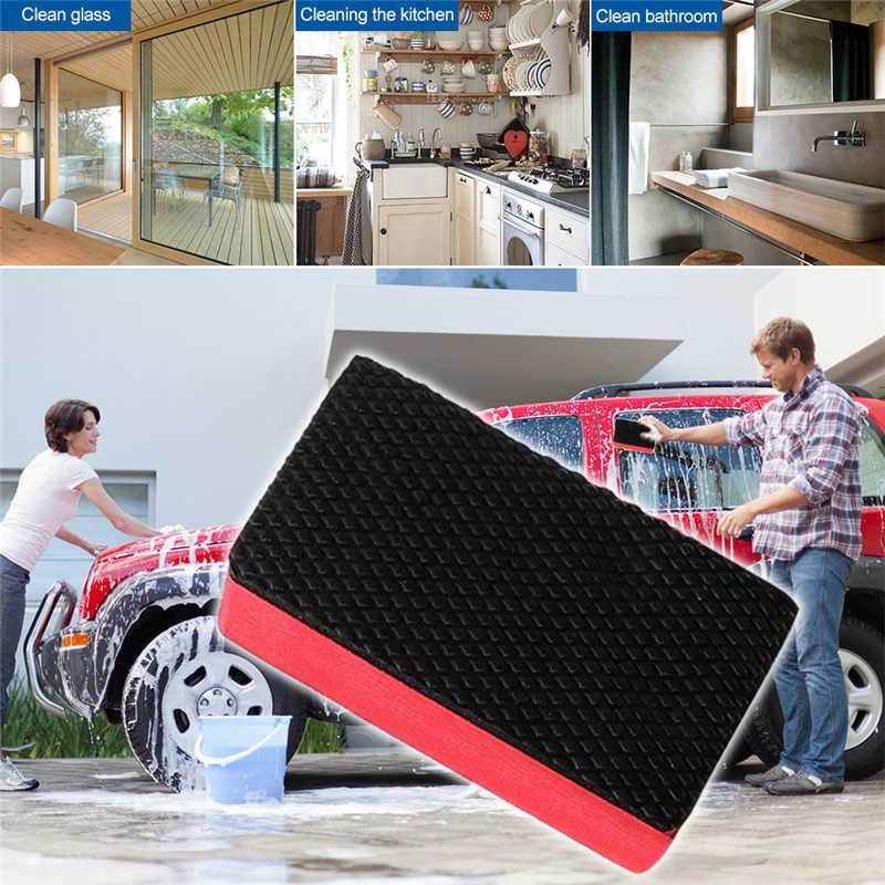 Mobil Pembersih Tanah Liat Cuci Mobil Lumpur Cleaning Sponge Magic Mobil Pembersih Tanah Liat Bar Mobil Detail Perawatan Alat Cuci Mobil styling Merah
