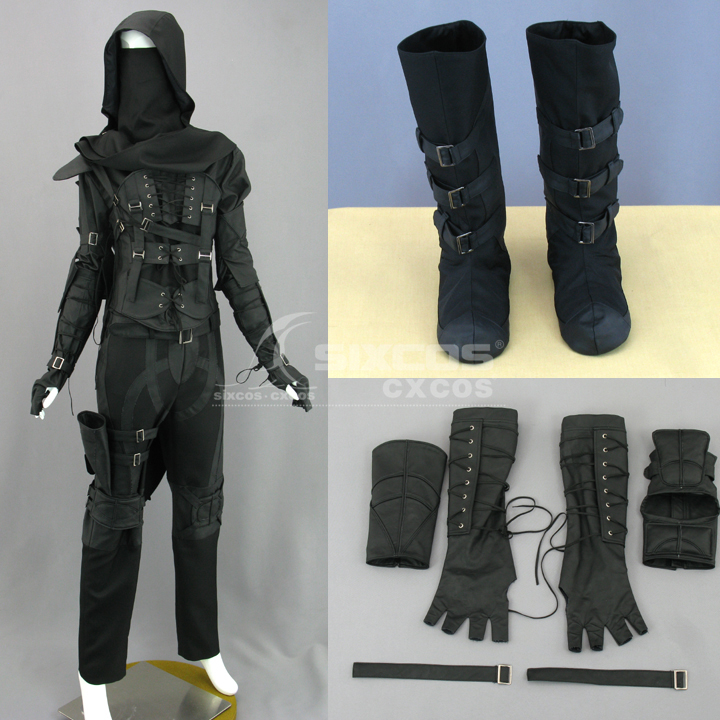Hot Game Anime Movie Thief 4 Garrett Sony PlayStation Game Cosplay Costumes Role Play Clothing For Unisex Full Set Custom-Make image