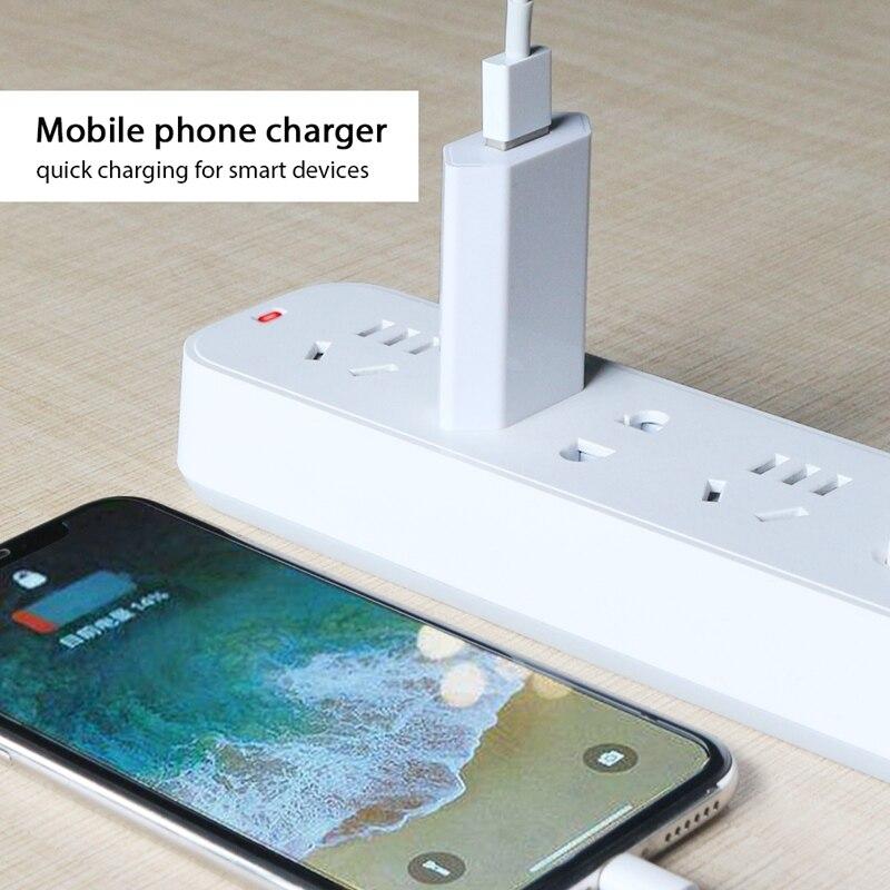 USB зарядное устройство для мобильного телефона зарядное устройство Европейского Универсальное зарядное USB устройство с AC дорожное Сетевое зарядное устройство адаптер питания для Apple iPhone 6 6S 5 5S 4 4S-1