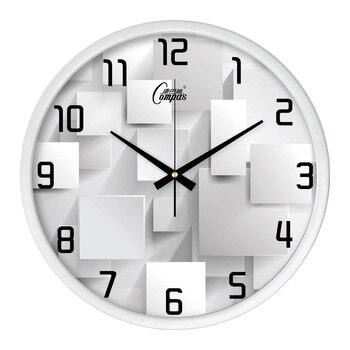Silent Modern Design Wall Clock Electronic Nordic Kitchen Wall Clock Creative Novelty Kids Reloj Pared Home Decoration JJ60WC