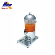 Одноцилиндровый Диспенсер для питьевой соки из нержавеющей стали, машина для охлаждения сока