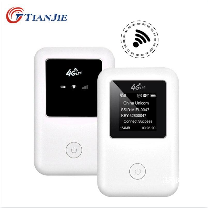 Enrutador mifi 3G 4G TIANJIE, enrutador wifi libre de alta velocidad, enrutador GSM UMTS WCDMA LTE FDD TDD, Tarjeta sim para coche, wifi de bolsillo, punto de acceso 4G Wiflyer SEL732 módem USB 4G Dongle Wifi tarjeta SIM módem Lte inalámbrico Router Wifi portátil LTE Router para coche de vigilancia Wifi