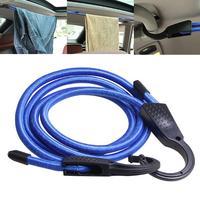 Cuerda de fijación ajustable para equipaje de coche y viaje al aire libre, cordón elástico para interior, correas de equipaje, cinturones, 1,5 M