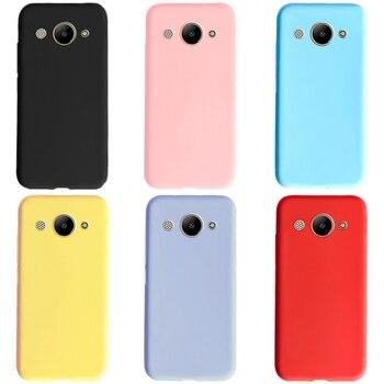 Para Huawei Y5 Lite 2017 funda para Huawei Y3 2017 Y3 2018 funda trasera de silicona para Huawei Y 3 2017 CRO-U00 CRO-L22