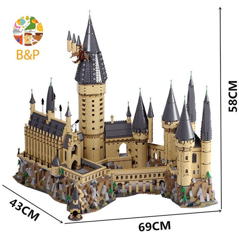 DHL LP 16012 2025 шт магическое слово Diagon Alley набор образовательных строительных блоков Кирпичи Модель игрушки Совместимые с подарками с 10217 игрушк... - 4