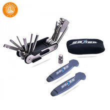 LOVELION 14 function bicycle tools portable mini package with chain cutter built-in bike tire bar