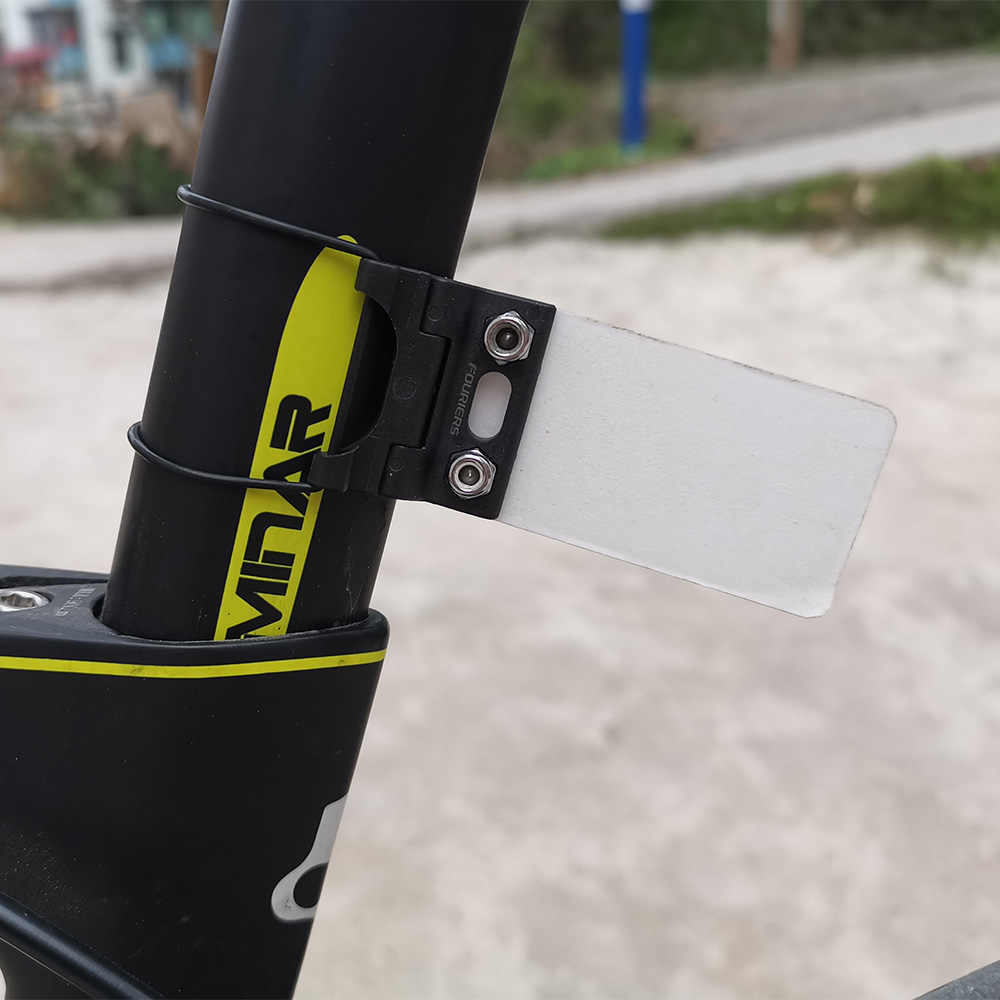Custom Road Bike Triathlon Racing Number Plate Holder Card  Bracket Aero Seatpos