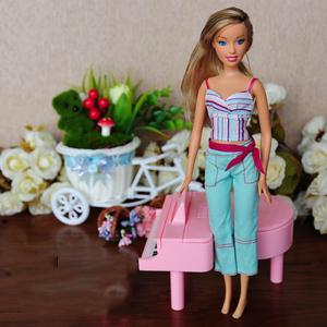 Image 5 - 30cm Limited Style Beautiful Girl 1/6 Doll Women With Clothes Moveable Joints Body Vintage