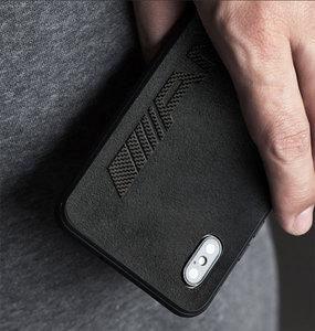 Image 5 - Luxury Slim Leather Carbon Fiber Cover Phone Case For Apple iPhone X Xr XS MAX case iphone 11 Pro Max 7 8 Plus phone case Luxury