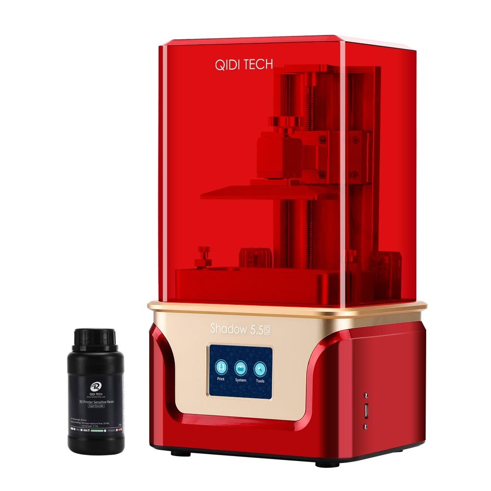 QIDI TECH SLA /LCD 3D Printer Shadow 5.5 S , UV LCD Resin Printer with Dual z axis Liner Rail, Build Size 115*65*150mm 4