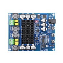 цена на Bluetooth Digital Amplifier Board TPA3116D2 Bluetooth High Power Audio Class D Stereo Amplifier 2*50W With NE5532 Preamp Pre-amp