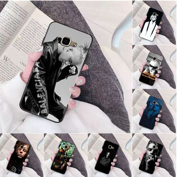 Russia hip hop rapper Pharaoh TPU Soft Silicone Phone Case Cover for Samsung a3 a5 a6 a9 a7 a8 a10 a20 a40 a70 case image