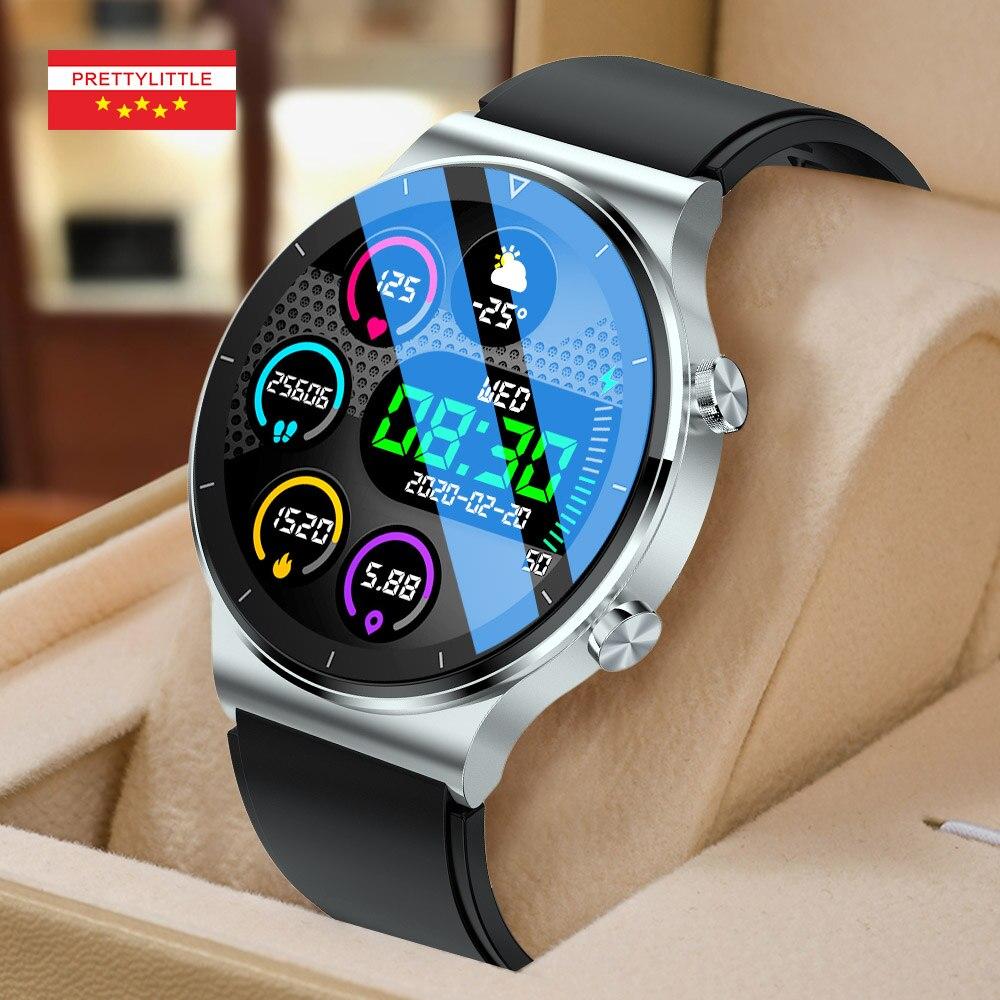 NUOBO 2021 New Smart Watch Men Bluetooth Call Heart Rate Blood Pressure Sports IP68 Waterproof Smartwatch Innrech Market.com