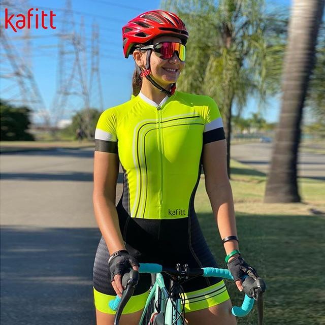 Pro equipe fessional macaquinho ciclismo feminino triathlon de manga curta ciclismo macacão casual wear terno camisa 1