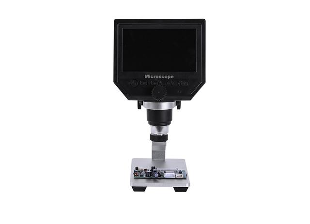 3 6MP 4 3 cal hd lcd kamera wideo USB led + metalowy stojak ZOOM 600X elektroniczne stereo mikroskop cyfrowy lutowania naprawa telefonu tanie i dobre opinie MUOU 500X i Pod OSL-527 Wysokiej Rozdzielczości Handheld PORTABLE Mikroskop stereoskopowy Video Microscope Video Camera Playback