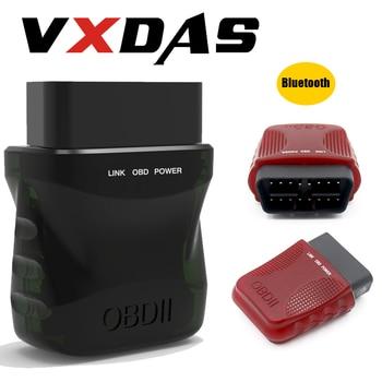цена на VXDAS Car Scan Tools OBD2 Bluetooth Scanner Full System Engine Code Reader OBDII Diagnostic Scanner Car Analyzer Checking Tester