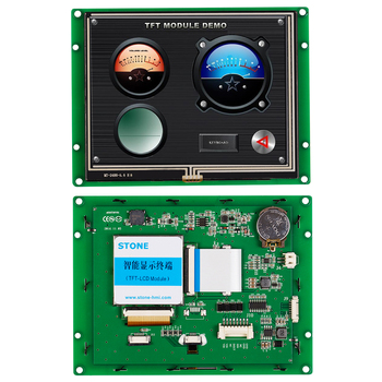 5.6 Inch Serial LCD Panel Module with Controller Board + Software + Touch Screen for Industrial stone 5 inch serial lcd panel module with controller board software touch screen for industrial