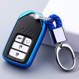 Image 1 - For Honda For Fit For Civic For HR V CRV Odyssey Accord 2013 2017 TPU Black Car Styling Remote Smart Key Cover Fob Case Shell