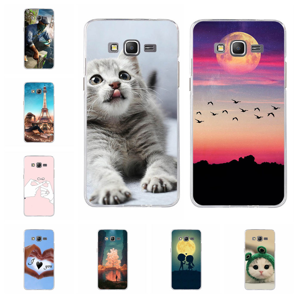 For Coque Samsung Galaxy Grand Prime Case G530 G530H G531 G531H G531F SM-G531F Case Soft TPU Cover For Samsung G530 Phone Cases