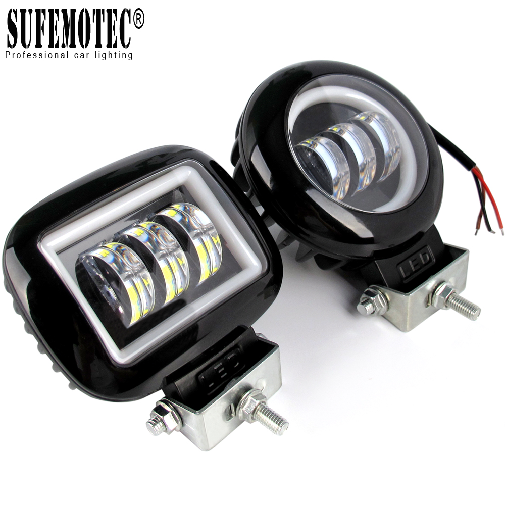 6D Lens 5 Inch Led Work Light Niva 4x4 Offroad Bar For Car Off Road 4WD Trucks ATV Suv 12V 24V Trailer Waterproof Driving Lights
