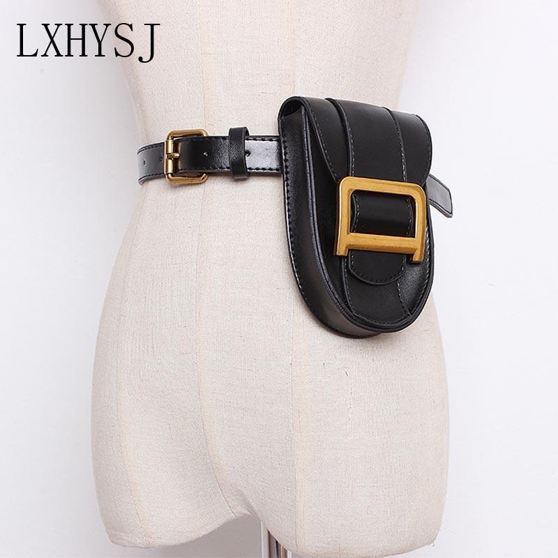 Women's Waist Bag Fanny Pack Serpentine Belt Bags Hip Package Fashion Bum Packs High Quality Female Waist Pack Mobile Phone Bag