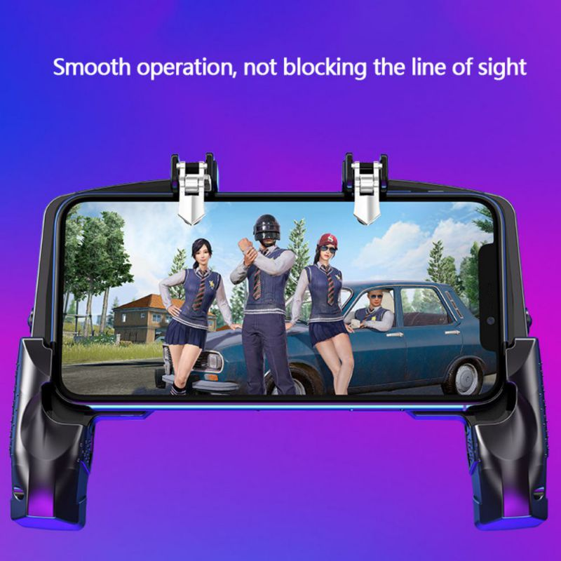 New Mobile Gaming Trigger For PUBG/Rules Of Survival Gaming Grip Controller Suit for Phone Tablet Gaming Gamer Lover