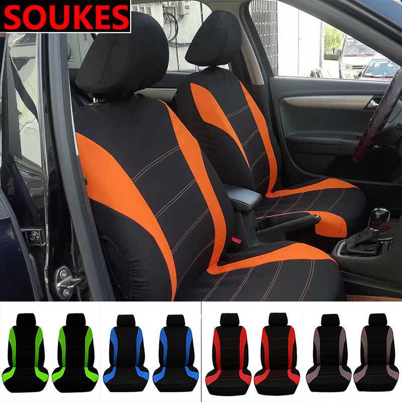 2/5/7 Seats araba ön arka koltuk koruyucusu kapakları Hyundai I30 IX35 IX25 Suzuki Lifan X60 Renault mitsubishi ASX Jeep Acura