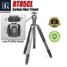 RT85CL Professionelle 10 Schichten Carbon Fiber Stativ Einbeinstativ mit Panorama Niedrigen Profole Ball oder Flüssigkeit Kopf für Digitale DSLR Kamera