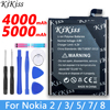 KiKiss Batteria Per Nokia 2 3 5 7 8 TA 1032 1020 1053 Bateria HE319 HE338 HE321 HE340 HE328