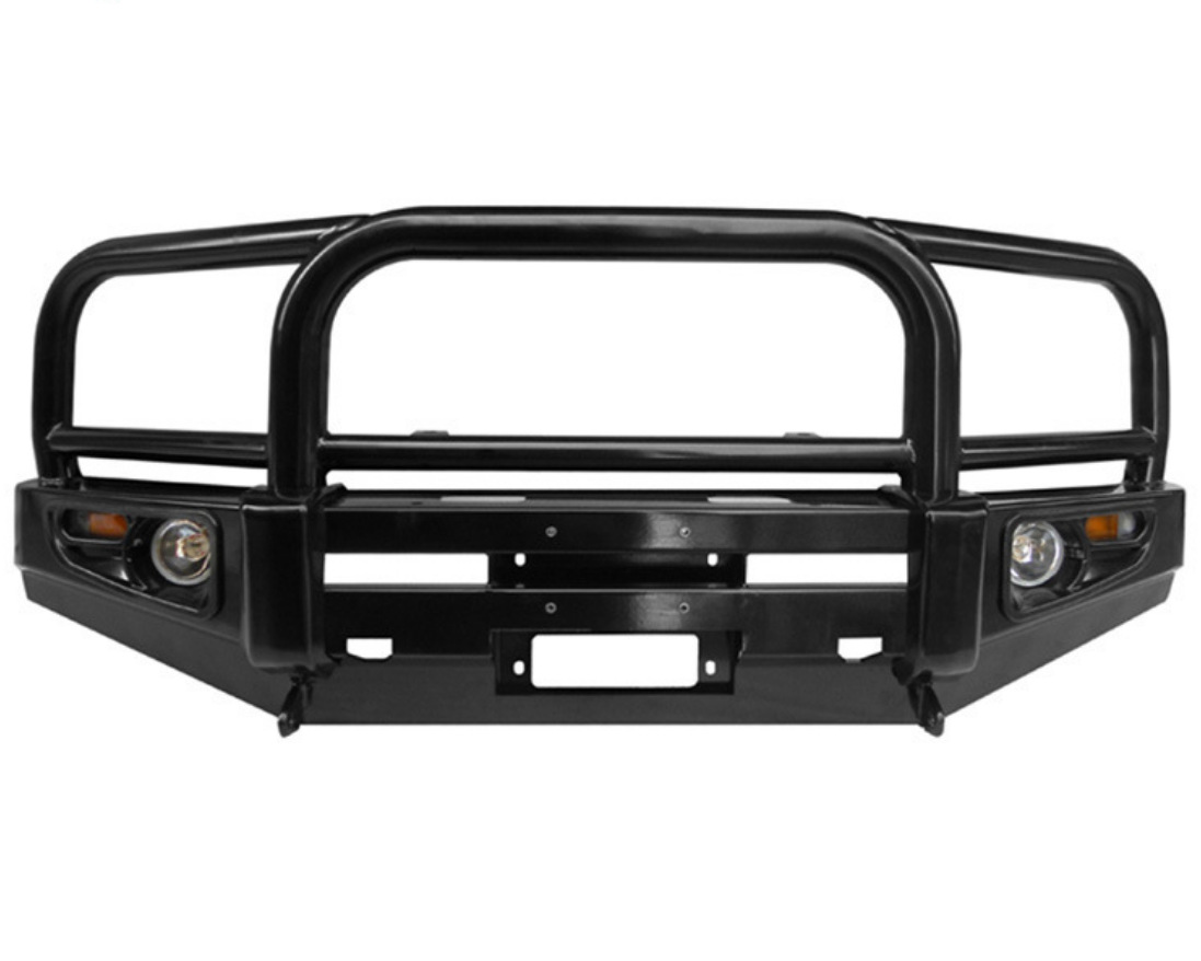 Suitable for Toyota FJ105 modified front bumper FJ105 anti collision front bumper front pump handle bar front bumper|Lifting Tools & Accessories| |  - title=