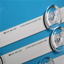 """100% ใหม่10ชิ้น/ล็อต55LB650V 55LB5900 LED StripสำหรับLG Innotek DRT 3.0 55 """"_ A/B rev01_140107 6916L 1833A 1834A 1989A 1990A"""