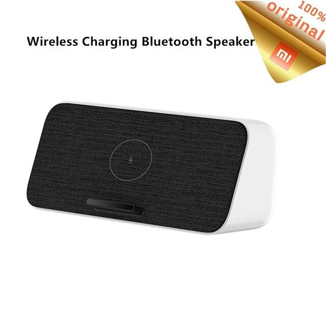 Original Xiaomi Bluetooth 5.0 ลำโพงไร้สายชาร์จ 30W MAX สำหรับ Xiaomi 10/10 Pro/9 Pro Qi ชาร์จสำหรับ samsung S10 IPhone 11