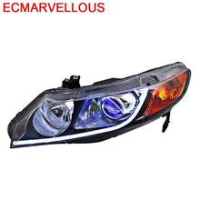 Assessoires Daytime Running Led Side Turn Signal Automovil Front Fog Headlights Rear Car Lights Assembly FOR Honda Civic(China)