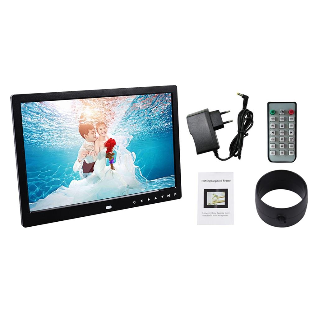 Multi functional 13 Inch 1280*800 HD LED Digital Photo Frame High Resolution Digital Picture Frame Photo Album Frame