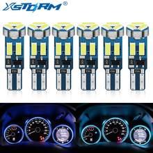 6 pçs t5 w3w w1.2w 70 73 74 79 85 super brilhante 4014 led indicador de aquecimento do painel do carro cunha lâmpada do instrumento automático 12v
