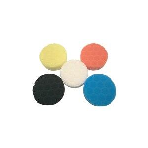 Image 5 - 5pcs 자동차 연마 디스크 자기 접착 버핑 왁싱 패드 자동차 폴리 셔 드릴 어댑터에 대 한 Muti 컬러 스폰지